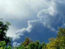 Smokey Sky Fotografie Stock Libere da Diritti