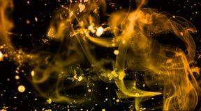 Smokey smutsbakgrund och tapet Royaltyfria Foton