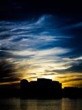 Smokey Sunset 3 Royalty Free Stock Images