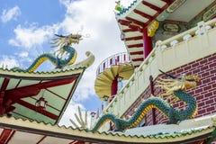 Smoki Taoistyczna świątynia w Filipiny Obraz Stock