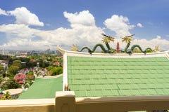 Smoki Taoistyczna świątynia w Filipiny Obrazy Stock