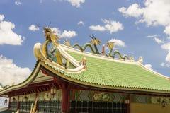 Smoki Taoistyczna świątynia w Filipiny zdjęcie royalty free