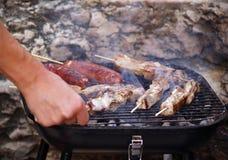 Smokin BBQ Lizenzfreie Stockfotografie