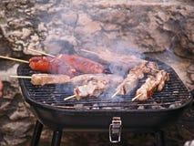 Smokin BBQ Lizenzfreie Stockfotos