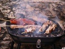 Smokin BBQ Lizenzfreies Stockfoto