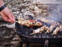 Smokin BBQ Lizenzfreie Stockbilder
