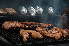 Smokin Good. This photo is of some good grilling stock photos