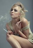 Smoking Royalty Free Stock Images
