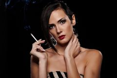 Smoking Royalty Free Stock Photography