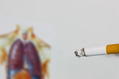 Smoking Royalty Free Stock Photos