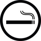 Smoking. A vector illustration of smoking sign Stock Photography