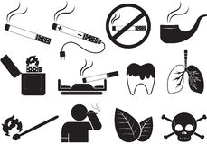 smoking stock illustratie