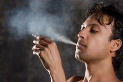 The smoking Stock Image