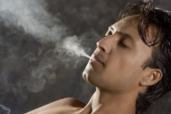 The smoking Stock Images