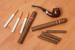 Smoking accessories Stock Photos