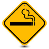 Smoking area sign Stock Image