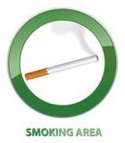 Smoking area symbol. Stock Photos