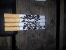 smoking arts Stock Photo