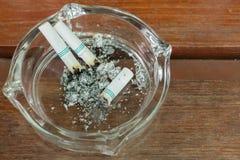 Smoking and ashtray Stock Photo