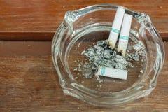 Smoking and ashtray Stock Photos