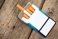Smoking-bad habit Stock Images