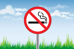 Smoking Ban Royalty Free Stock Image