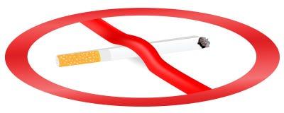 The smoking ban Stock Photography