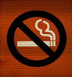 Smoking ban Royalty Free Stock Photo