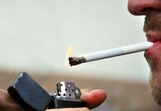 Smoking Royalty Free Stock Photos
