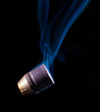 Smoking bullet Royalty Free Stock Photos