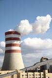 Smoking chimney Stock Images