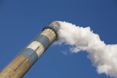 Smoking chimney Stock Photography