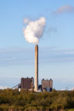 Smoking Chimney Power Plant Royalty Free Stock Image