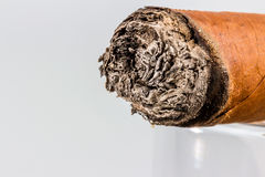 Smoking cigar Royalty Free Stock Photos