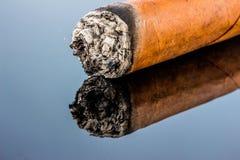 Smoking cigar Royalty Free Stock Photo