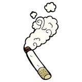 smoking cigarette cartoon Stock Photos