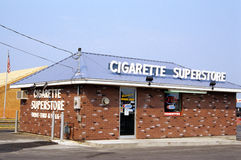 Smoking- Cigarette Superstore Stock Photography