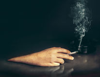 Smoking concept Royalty Free Stock Photography