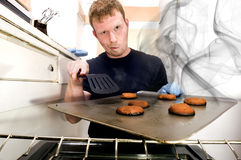 Smoking Cookies Royalty Free Stock Photography