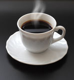 Smoking Cup Of Coffee Royalty Free Stock Image