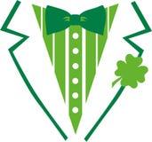 Smoking de jour du ` s de St Patrick pour une chemise illustration de vecteur