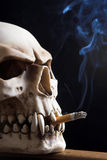 Smoking death Royalty Free Stock Photo