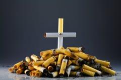 Smoking-death Royalty Free Stock Image
