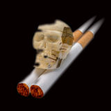 Smoking - Death Royalty Free Stock Images