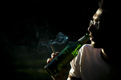 Smoking and drinking Stock Photos