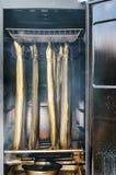 Smoking eel Stock Photo