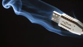 Smoking fast Stock Photo