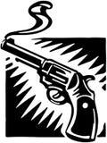 Smoking Gun Royalty Free Stock Images