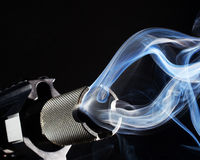 Smoking gun Royalty Free Stock Images