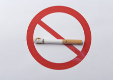 Smoking is harmful to health Royalty Free Stock Photos
